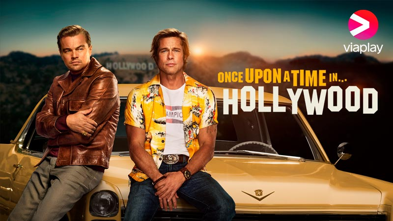 Se Once Upon a Time in Hollywood på Viaplay
